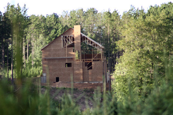 Hunting lodge construction